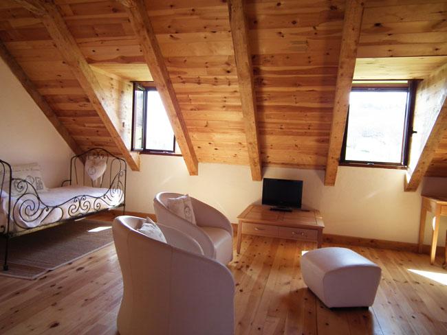 c ur de ch ne la tarabelle chambre d 39 h te loz re. Black Bedroom Furniture Sets. Home Design Ideas